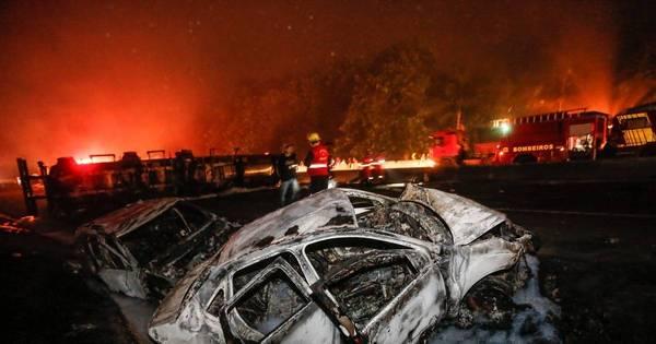 Veja imagens do acidente com caminhão que deixou quatro mortos ...