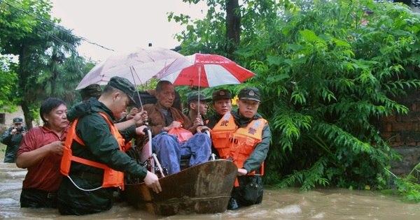 Enchentes deixam dezenas mortos na China e arrasam colheitas ...
