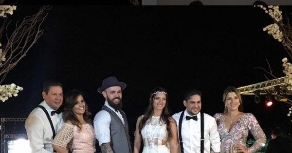 Mateus, da dupla com Jorge, se casa com estudante em cerimônia ...