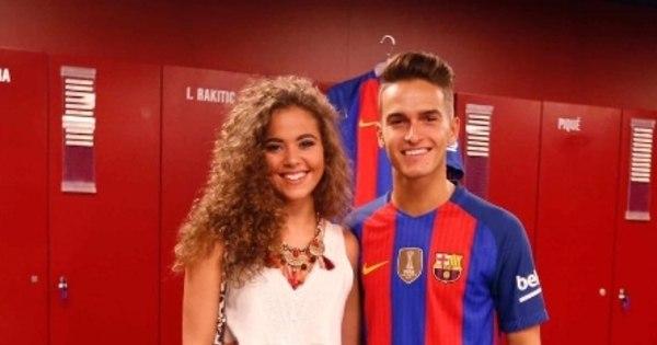 Namorada de reforço do Barcelona é nova candidata a musa do clube