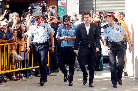 Messi é condenado a 21 meses de cadeia na Espanha