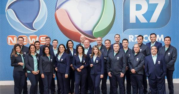 Conheça a equipe olímpica da Rede Record - Rede record - R7 Rio ...