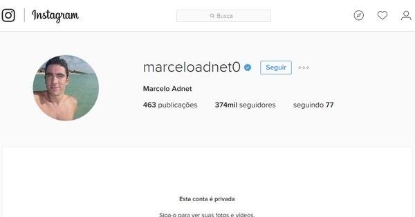 Marcelo Adnet bloqueia conta em rede sociais após ser flagrado ...