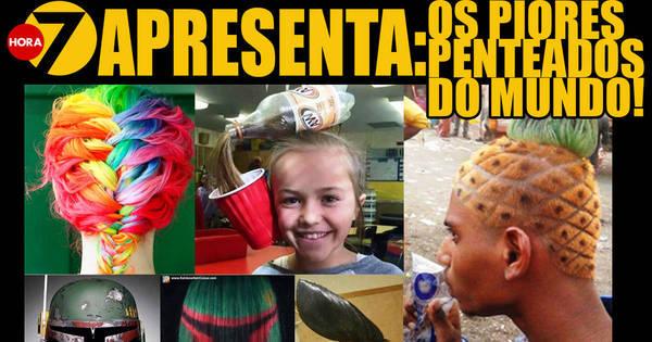 Hora 7 apresenta: os penteados mais bizarros da história da ...