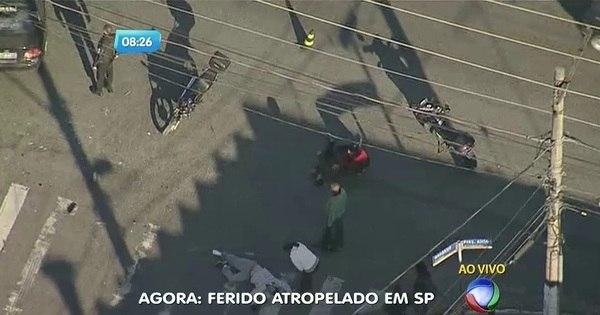 Homem é atropelado e fica gravemente ferido na zona oeste de São ...