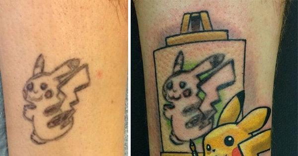 Tatuagem também tem salvação! E essas pessoas podem provar isso
