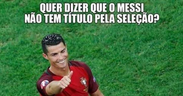 Título inédito de Portugal esquenta a disputa entre CR7 e Messi nas ...