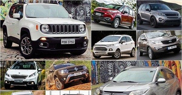 Veja os 15 SUVs mais vendidos no Brasil até junho - Fotos - R7 ...