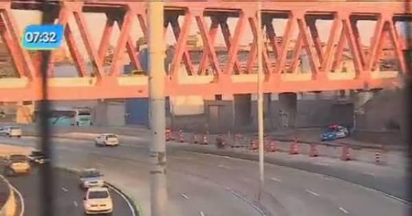 Avenida Brasil tem primeiro dia de pistas centrais liberadas para ...