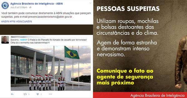 Agência Brasileira de Inteligência tenta reconhecer terroristas e vira ...