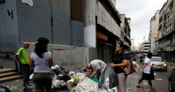 """Todas as pragas caíram sobre a Venezuela"": moradores do país ..."