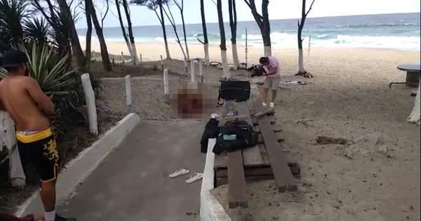 """Gravação de filme adulto em praia do Rio causa polêmica: """"É um ..."""