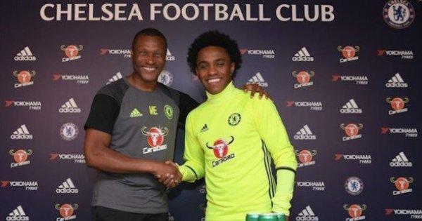 Willian assina novo contrato de 4 anos com o Chelsea - Esportes ...