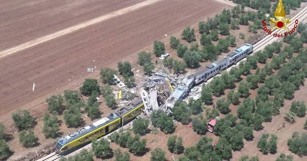 Sobe para 25 o número de mortos entre choque de trens na Itália ...