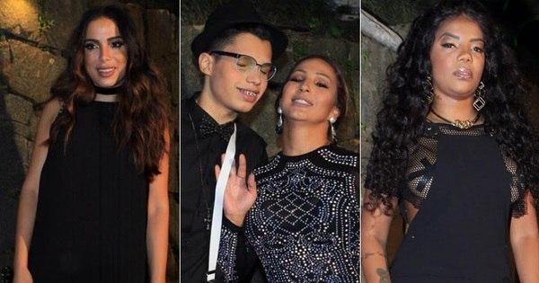 Anitta, Valesca e Ludmilla capricham no visual para festa milionária ...