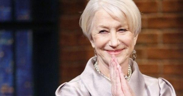 Helen Mirren está muito chateada por não dirigir em Velozes e ...