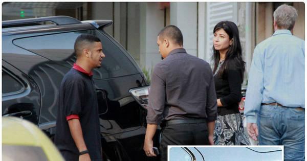 Ana Lima tem carro danificado em estacionamento de shopping no ...