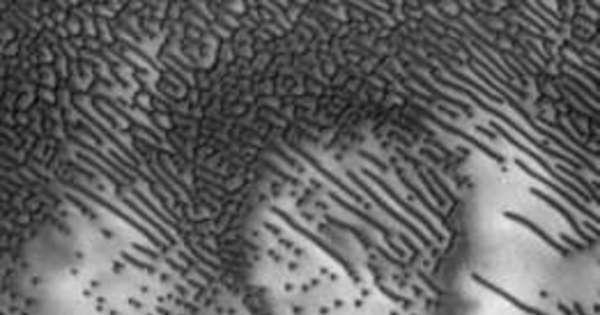 Projeto da Nasa decifra 'mensagem em código morse' na superfície ...