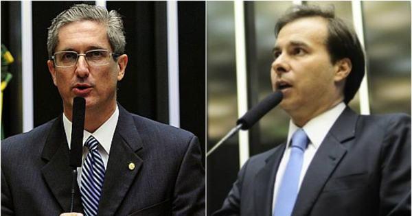 Rodrigo Maia e Rogério Rosso seguem na disputa pela presidência ...