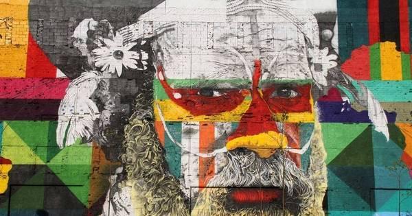 Rio ganha maior painel do grafiteiro Kobra, que se inspirou nos ...