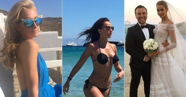Grécia é o novo destino favorito das celebridades brasileiras e ...