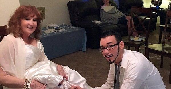 Avó se casa com garoto de 17 anos que conheceu no funeral de ...