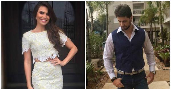 Ex-BBBs Elieser Ambrósio e Kamilla Salgado se casam no civil ...