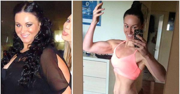 Transformação incrível! Ex- obesa vira gatona sarada em pouco ...