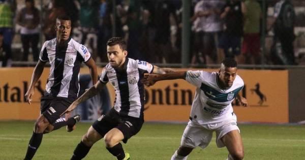 Santos escala titulares, mas só empata com o Gama pela Copa do ...