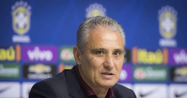 Tite convoca nesta segunda a seleção brasileira com poucos ...