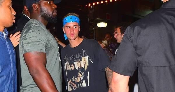 Segura esse rock! Justin Bieber chama a atenção com visual anos ...