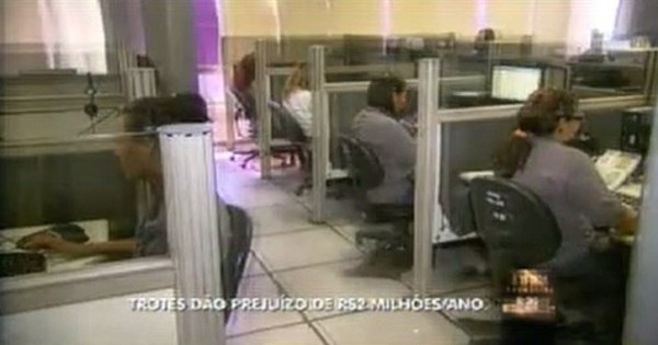 Trotes a serviços de emergência dão prejuízo de R$ 2 milhões em MG