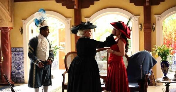 Guerra de tortas na cara entre Urraca e Rosalinda acontece nesta ...