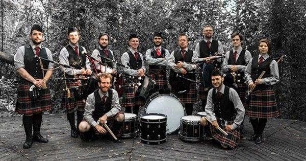SP Scots Pipe Band faz apresentação em São Paulo. Veja ...