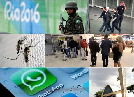PF prende supostos terroristas e tiroteio em shopping mata nove