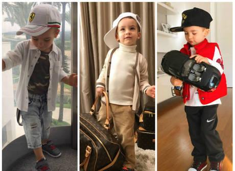 Filho de Ana Hickmann dá uma aula de estilo nas redes sociais