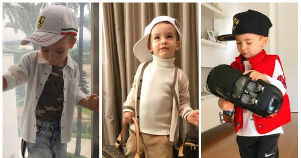 Alexandre Jr., filho de Ana Hickmann, dá aula de estilo nas redes ...