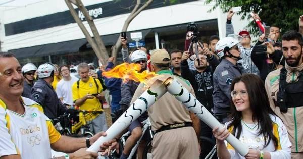 Homem é preso na passagem da tocha por Guarulhos - Rede ...