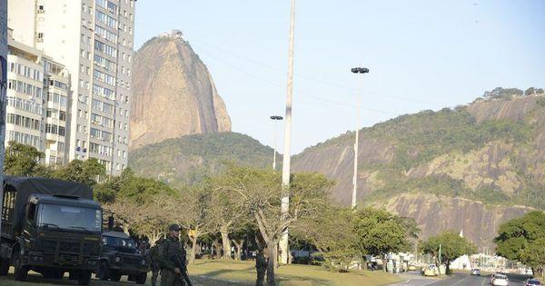 Rio 2016: Forças Armadas iniciam oficialmente operação de ...