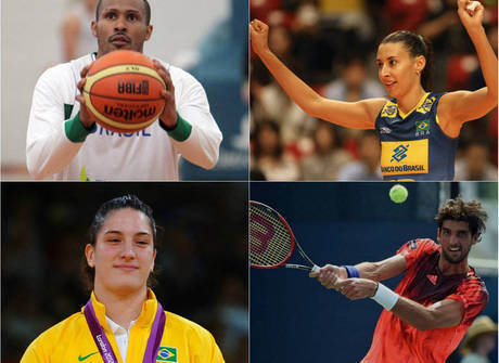 Saiba qual o time do coração dos destaques brasileiros na Rio 2016