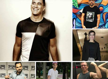 Conheça os famosos que somam mais de meia tonelada perdida