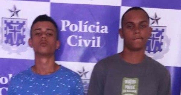 Dupla é presa após assaltar ônibus executivo em Salvador ...