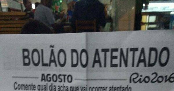 """A internet brasileira está fazendo o """"Bolão do atentado"""" - Notícias ..."""