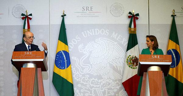 """Serra diz à chanceler do México que é um """" perigo"""" ter tantas ..."""