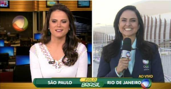 Jornalísticos da Record iniciam transmissão olímpica direto do Rio ...