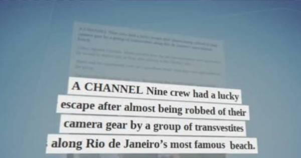 Grupo de travestis tenta assaltar equipe de TV australiana em ...