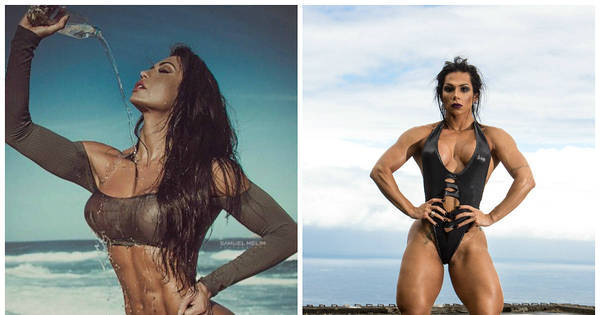 Gracyanne Barbosa ou Mulher Hulk: quem é a mais sarada do ...