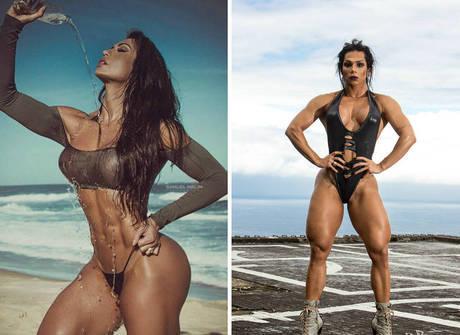 Gracyanne ou Mulher Hulk: quem é a mais sarada do mundo fitness?
