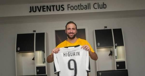 Contratação de Higuaín pela Juventus é a terceira maior da história ...