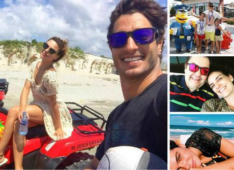 Veja em detalhes como foram as férias dos famosos em julho